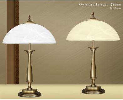 Lampa biurkowa z mosiądzu S-B2C