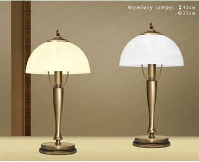 Mosiężna lampa stołowa S-B1G