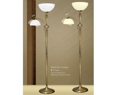 Lampa podłogowa mosiężna S-P2
