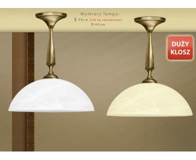 Niska klasyczna lampa sufitowa S-S1KD