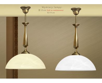 Lampa klasyczna z mosiądzu S-S1