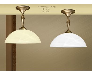 Krótka lampa mosiężna S-S1CK