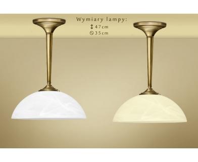 Krótka lampa klasyczna z mosiądzu Y-S1K