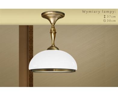 Niska lampa klasyczna z 1 kloszem SR-S1CK