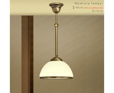 Lampa sufitowa mosiężna SR-S1ME