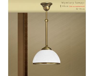 Lampa klasyczna z mosiądzu SR-S1M