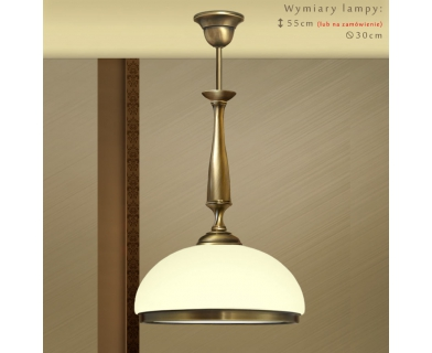 Lampa sufitowa z mosiądzu SR-S1E