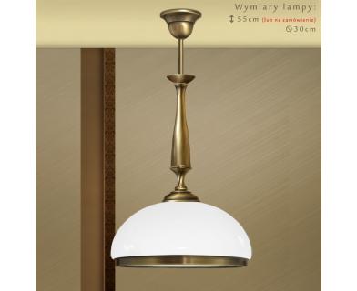 Lampa klasyczna mosiężna SR-S1
