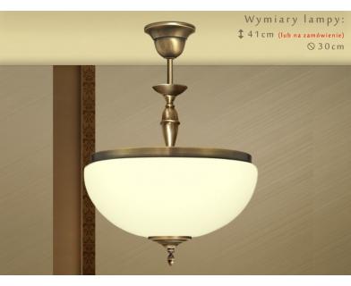 Lampa sufitowa z mosiądzu SR-S1ACE