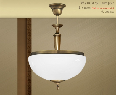 Lampa klasyczna mosiężna SR-S1A