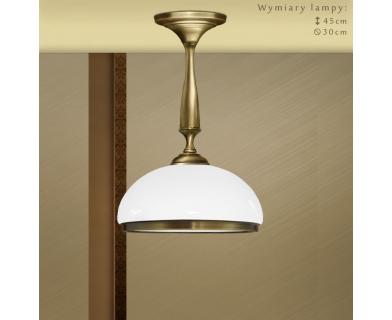 Lampa wisząca z mosiądzu SR-S1K