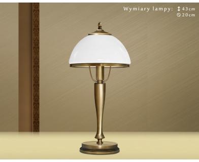 Klasyczna lampa biurkowa SR-B1G