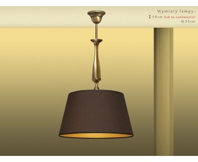 Lampa sufitowa mosiężna PA-S1Bm