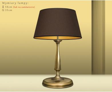 Lampa stołowa z abażurem PA-B2m