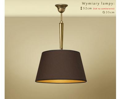 Lampa sufitowa z mosiądzu YA-S1C35m