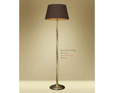 Lampa podłogowa z abażurem YA-P1m