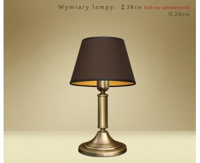 Lampa stołowa z mosiądzu YA-B1m