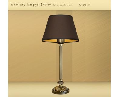 Lampa nocna z abażurem LB-B2m