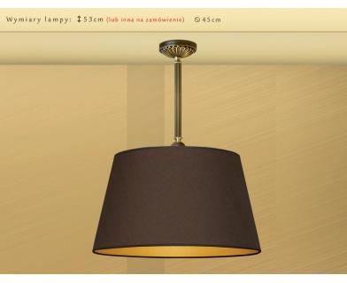 Lampa sufitowa z mosiądzu LB-S1m