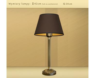 Mosiężna lampa nocna LB-B1m