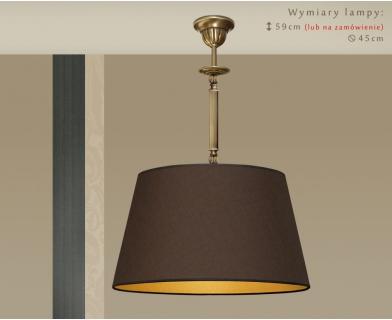 Lampa sufitowa mosiężna A-S1m