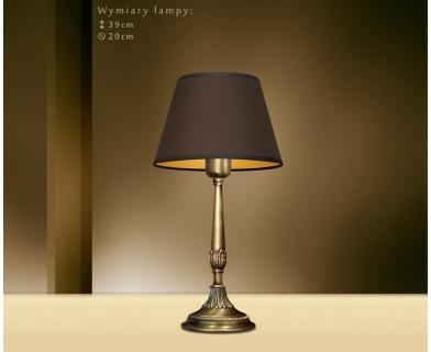 Klasyczna lampa biurkowa NA-B1m