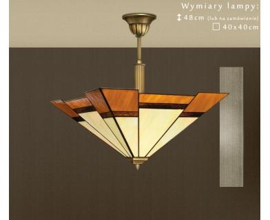 Lampa sufitowa mosiężna O-S1A