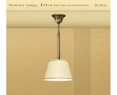 Lampa sufitowa z mosiądzu L-S1C20