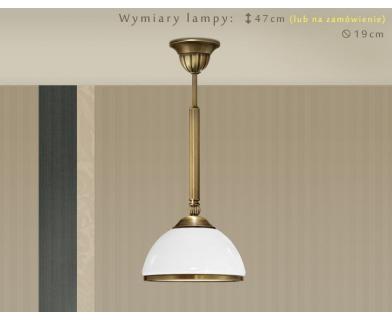 Lampa sufitowa z mosiądzu HR-S1C