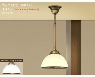 Lampa klasyczna z 1 kloszem R-S1CE