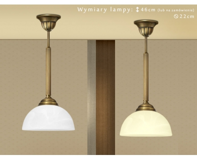 Lampa klasyczna mosiężna B-S1C