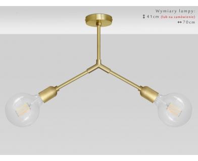 Lampa sufitowa złota TZ-S2