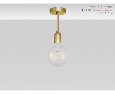 Krótka złota lampa wisząca TZ-S1K