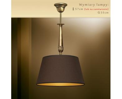 Lampa wisząca z abażurem NA-S1Bm