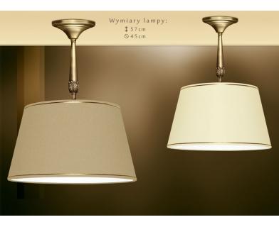 Lampa wisząca z abażurem 45cm NA-S1K