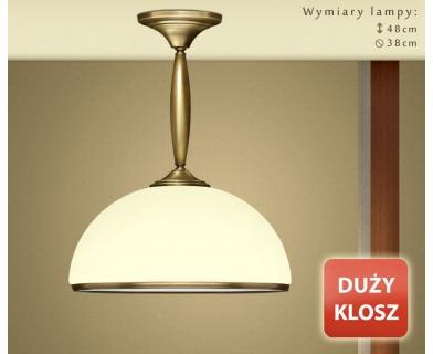 Niska klasyczna lampa sufitowa CR-S1KDE