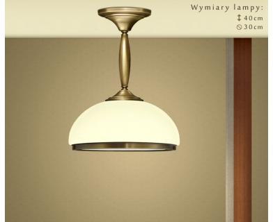 Niska klasyczna lampa sufitowa CR-S1KE