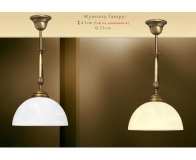 Lampa klasyczna z mosiądzu N-S1C