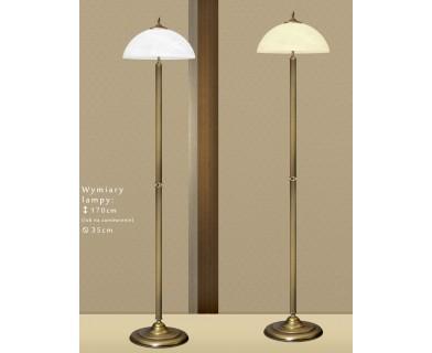 Mosiężna lampa podłogowa B-P1