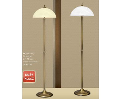 Lampa podłogowa mosiężna B-P1D