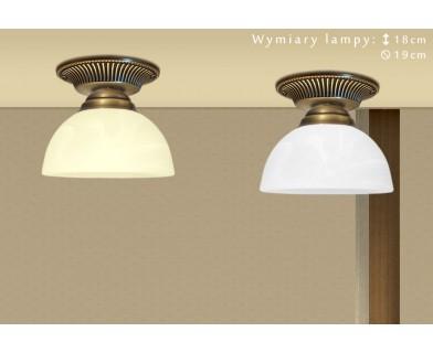 Przysufitowa lampa mosiężna B-PL1G