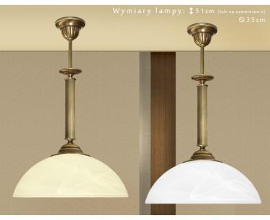 Lampa sufitowa z mosiądzu B-S1