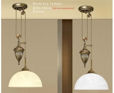 Lampa sufitowa z mosiądzu B-S1PD