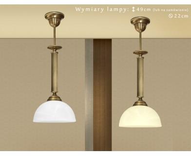 Lampa klasyczna z mosiądzu B-S1M
