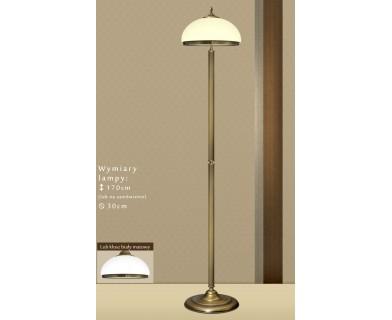 Lampa podłogowa z mosiądzu R-P1E