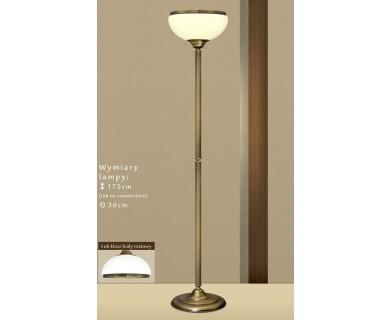 Lampa podłogowa mosiężna R-P1AE