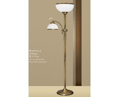 Lampa podłogowa z mosiądzu R-P2