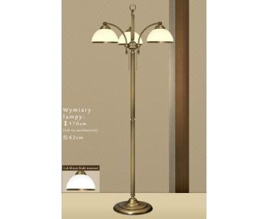 Lampa podłogowa mosiężna R-P3E