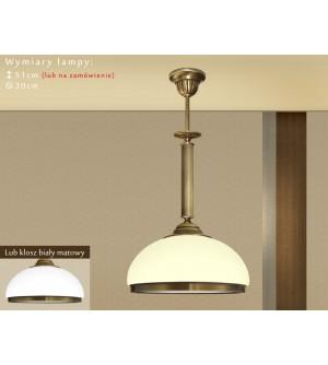 Lampa klasyczna z mosiądzu R-S1E