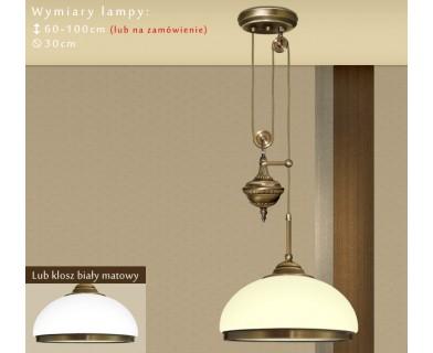 Lampa sufitowa mosiężna R-S1PE